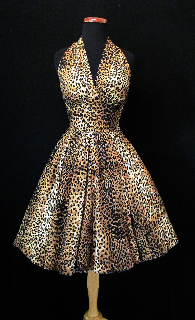 Marilyn Halter Dress