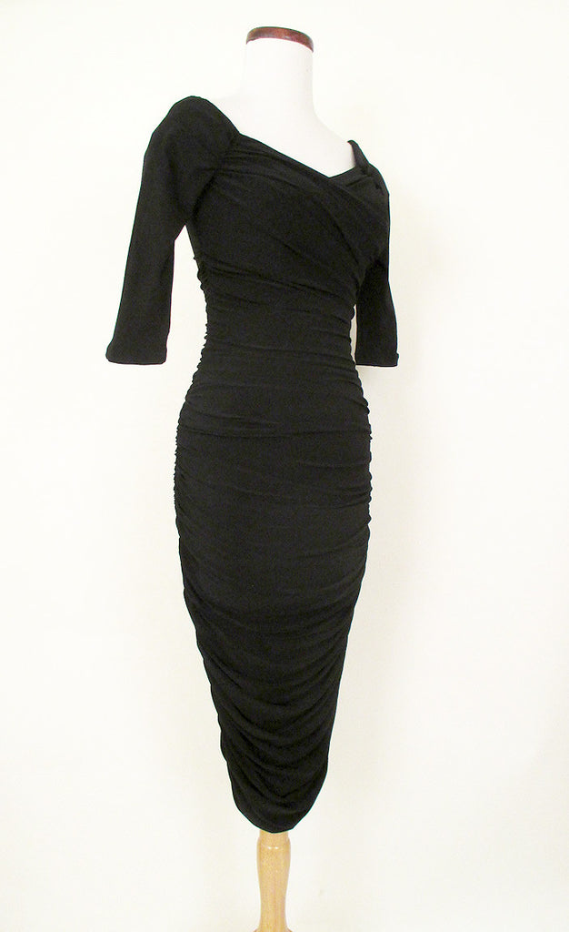Marilyn Monroe Black Cocktail Dress