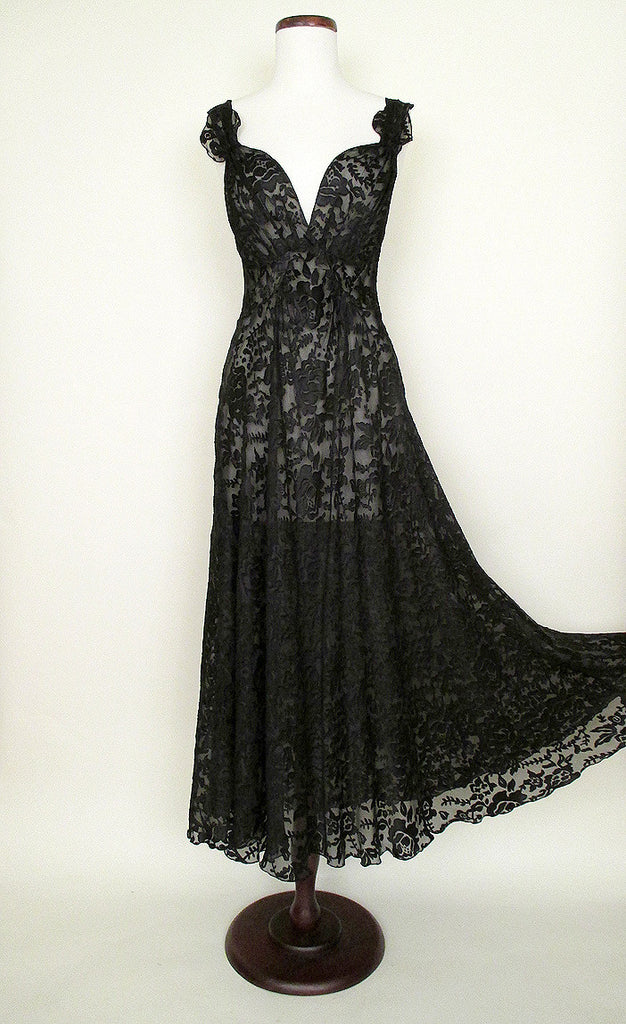 1930\'s Glamour Night Gown | Catnip Reproduction Vintage Clothing
