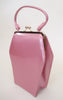 Adorable Pink Patent Leather 1950s purse