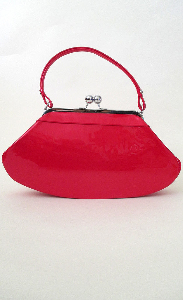 Red Hot 1950's Patent Leather Purse