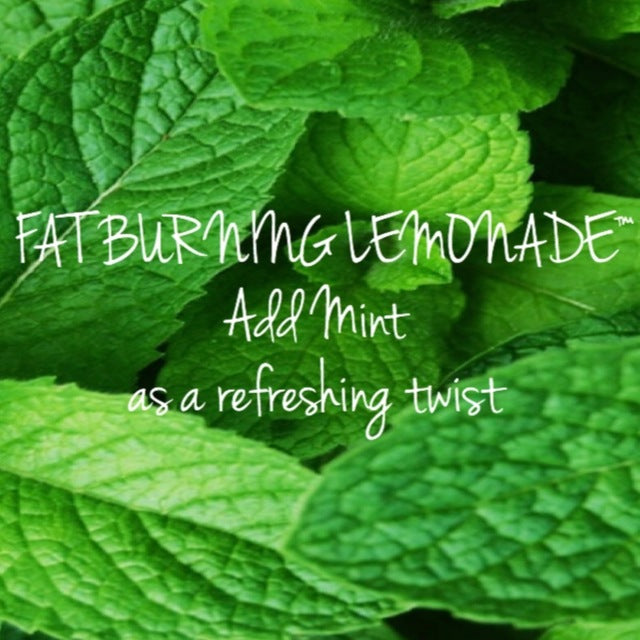 Go GREEN with Fat Burning Lemonade®