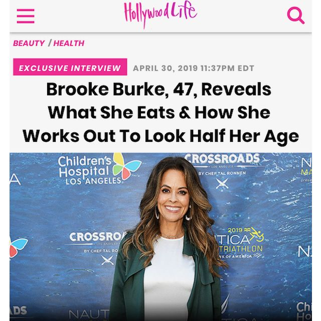 Brooke Burke, 47, Reveals What She Eats & How She Works Out To Look Half Her Age