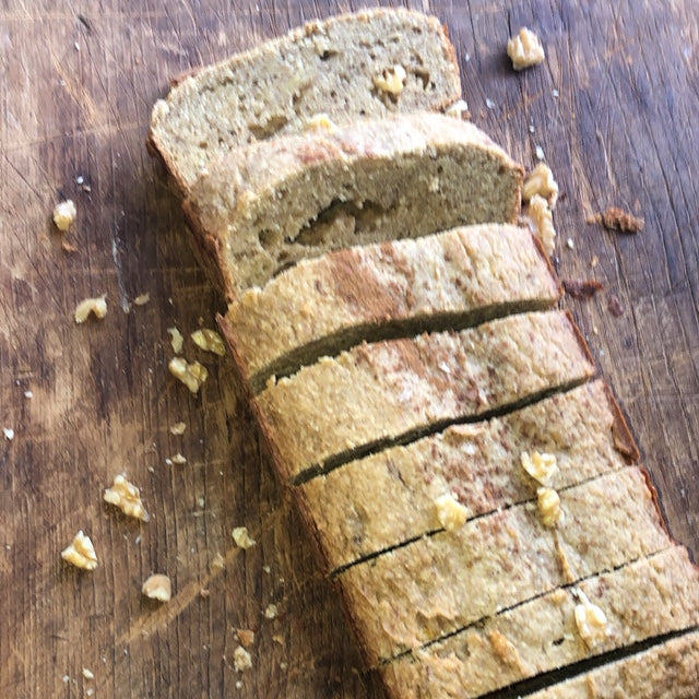 Our gluten free banana bread will be a hit the kitchen to pass the time.