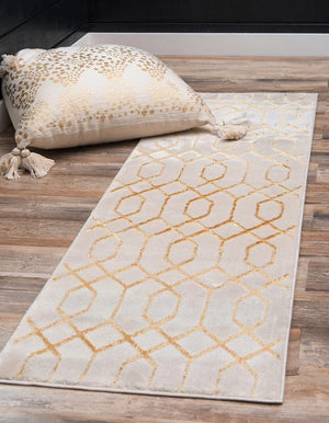 Preston - Geometric Pattern Luxury Rug - MODERNY
