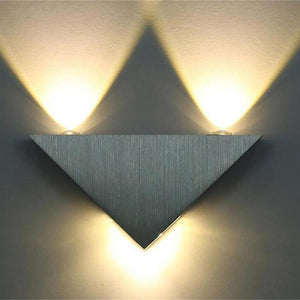 Modern LED Triangle Wall Lamp - MODERNY