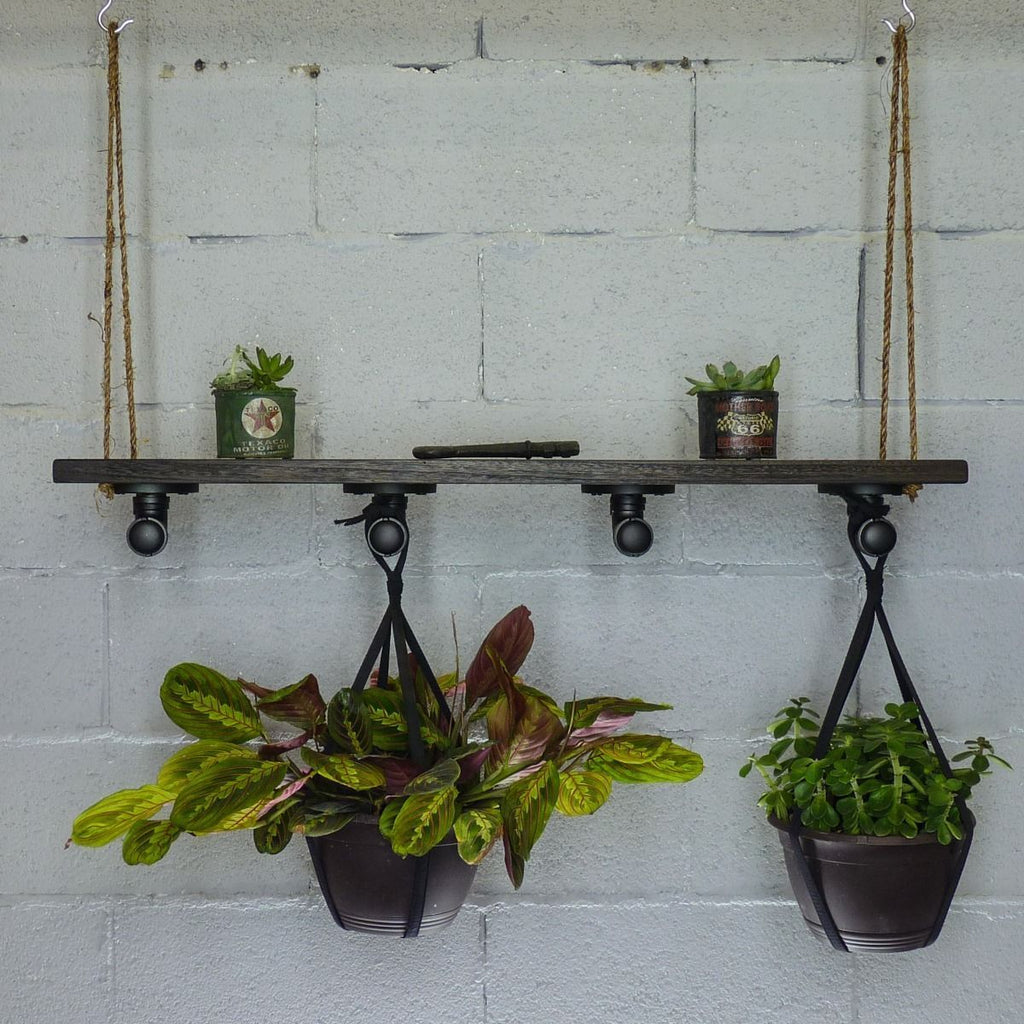 Modern Industrial Plant Holder Hanging Shelf - MODERNY