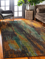 Vaughn - Color Blend Rug - MODERNY