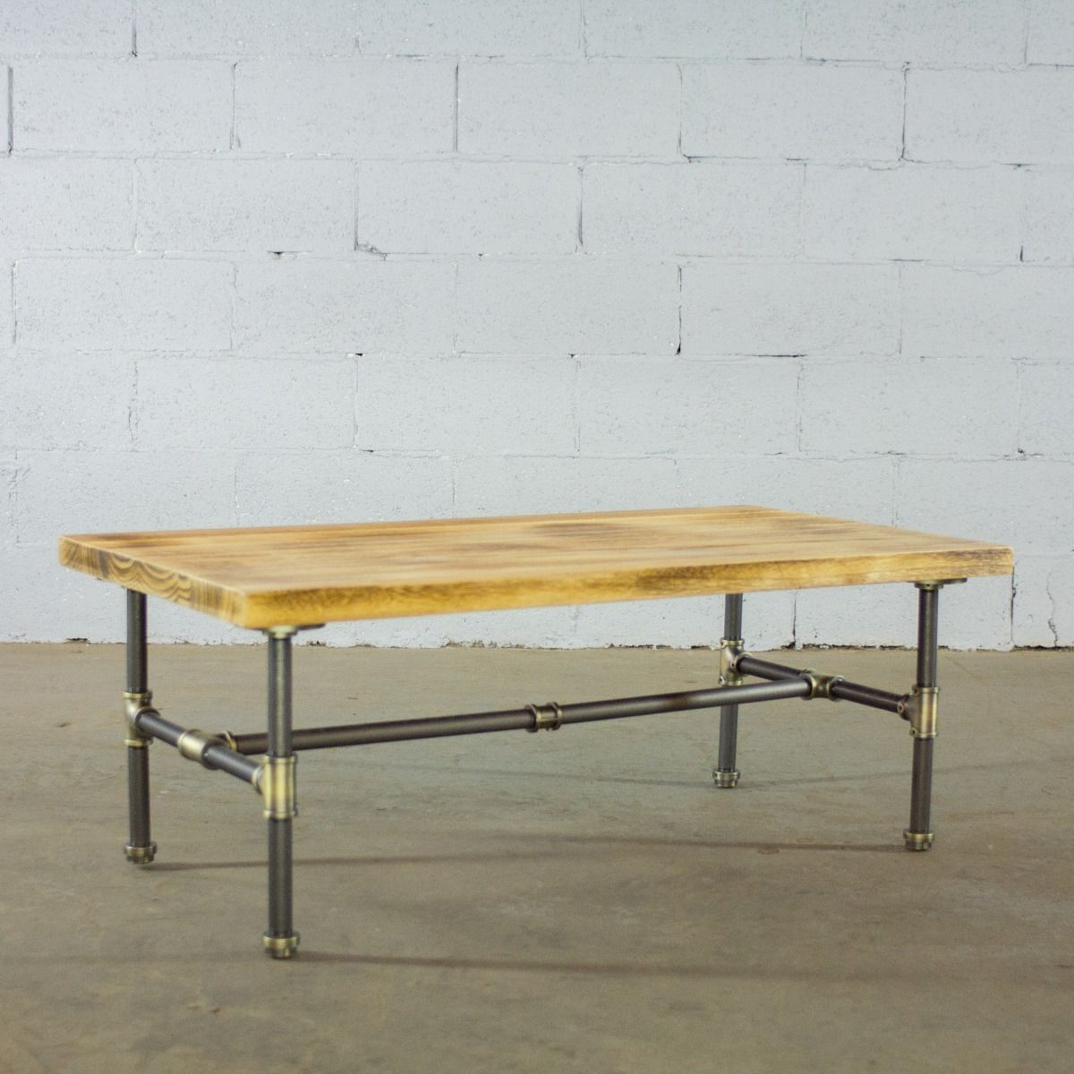 Modern Industrial Rectangular Coffee Table - MODERNY