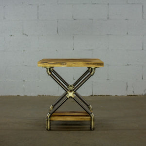 Industrial Open Bedside Table - MODERNY