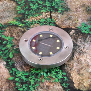 Callan - Solar Powered Garden Ground LED Light - MODERNY