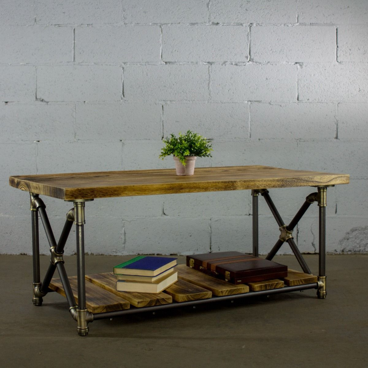 Modern Rectangular Two Tier Center Piece Table - MODERNY