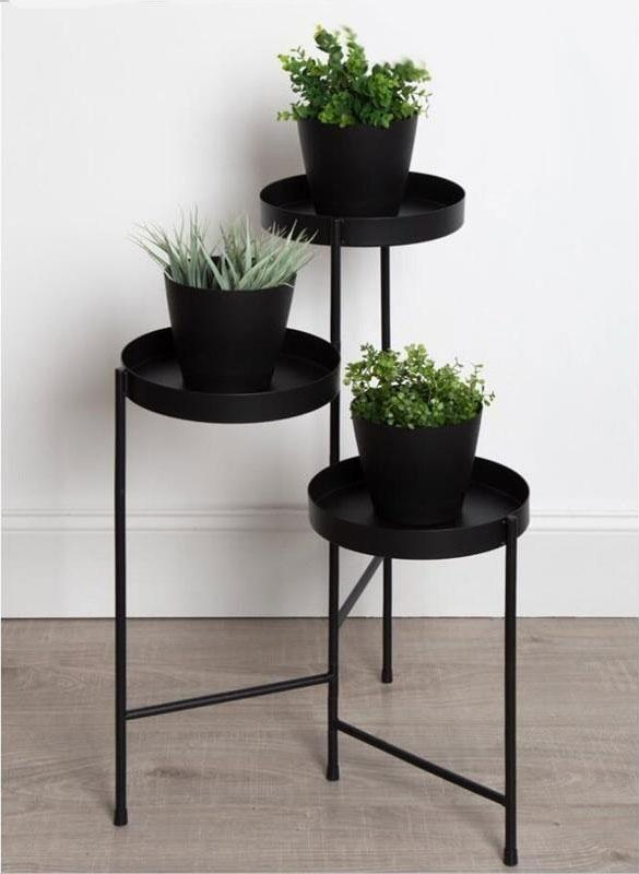 Henley - Three Level Modern Nordic Planter Display Stand - MODERNY