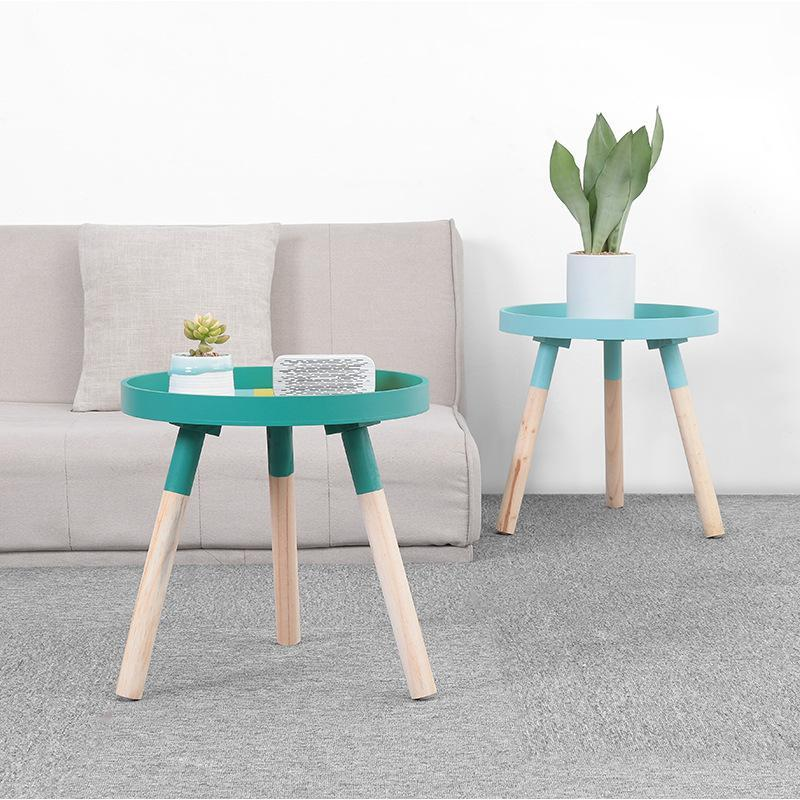 Rula - Round Color Pop Coffee Table - MODERNY