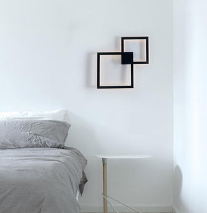 Rowley - Square Modern Wall Lamp - MODERNY
