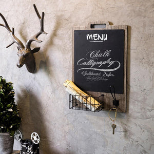 Notely - Retro Hanging Chalkboard - MODERNY