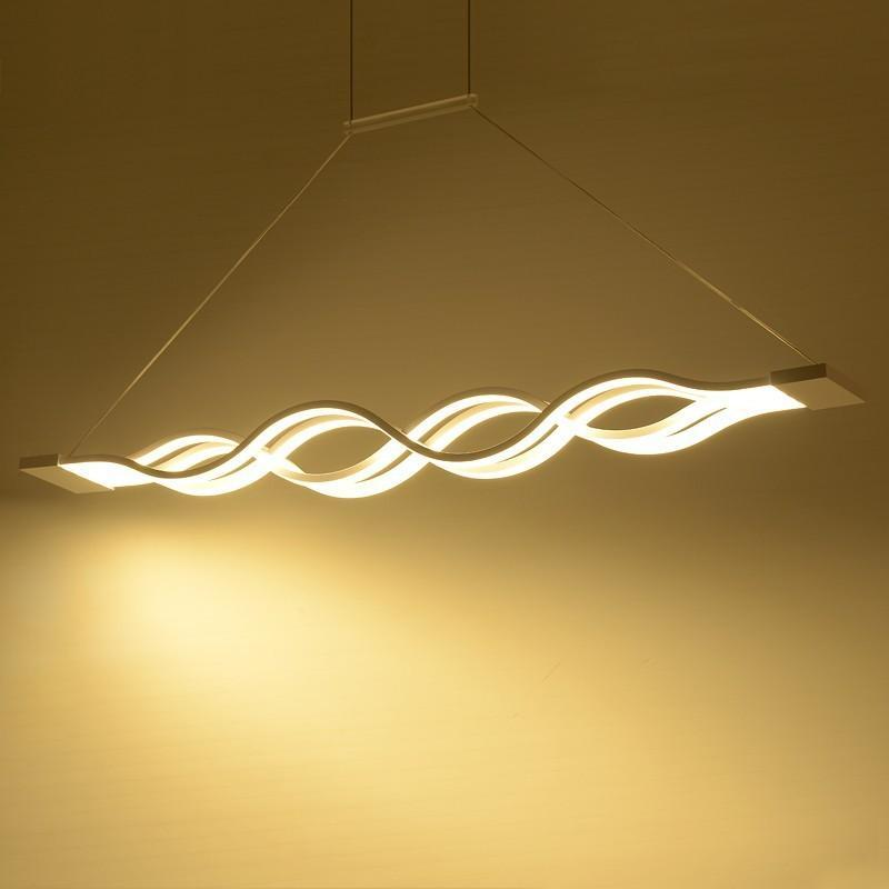 LED Wave Chandelier - MODERNY