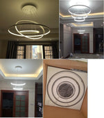 Indoor Modern Circular Ring Chandelier - MODERNY