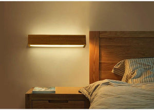 Statuto - Modern Nordic Wooden Wall Lamp - MODERNY