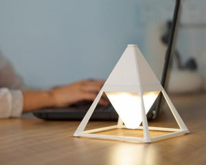 Pyramid Touch Activated Diamond Lamp - MODERNY
