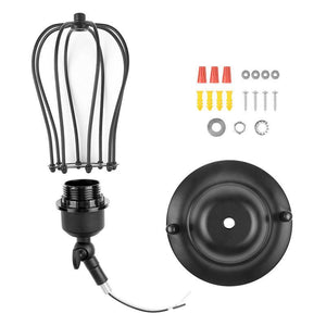 Industrial Droplet Cage Wall Lamp - MODERNY