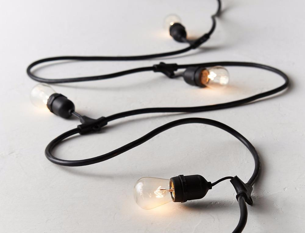 Foras - Weather-Proof Connectable Light String - MODERNY
