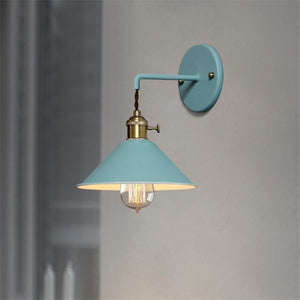 Linus - Vintage Plated Wall Lamp - MODERNY