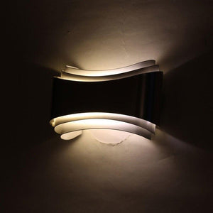 Modern LED Curved Wall Lamp - MODERNY