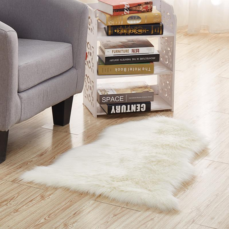 Imitation Sheepskin Shaggy Wool Rug - MODERNY
