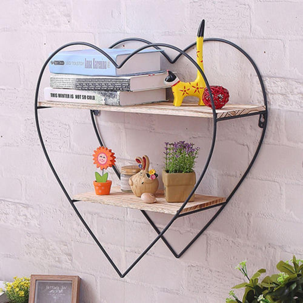 Tri - Three Tier Iron Frame Shelf - MODERNY