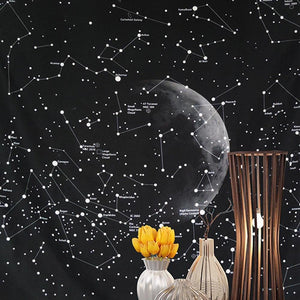 Cassiopeia - Constellation Tapestry Wall Hanging - MODERNY