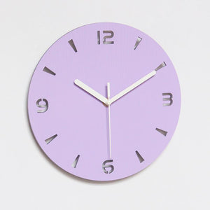 Oriana - LED Back Light Silent Clock - MODERNY