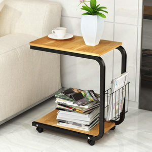 Ezra - Two Shelf Side Table - MODERNY