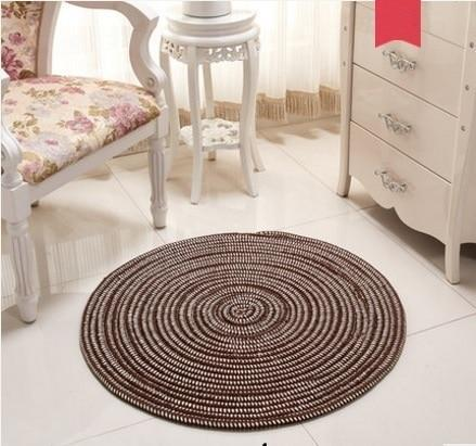 Francisco - Woven Round Area Rug - MODERNY