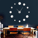 Nairi - DIY Large Frameless Clock - MODERNY