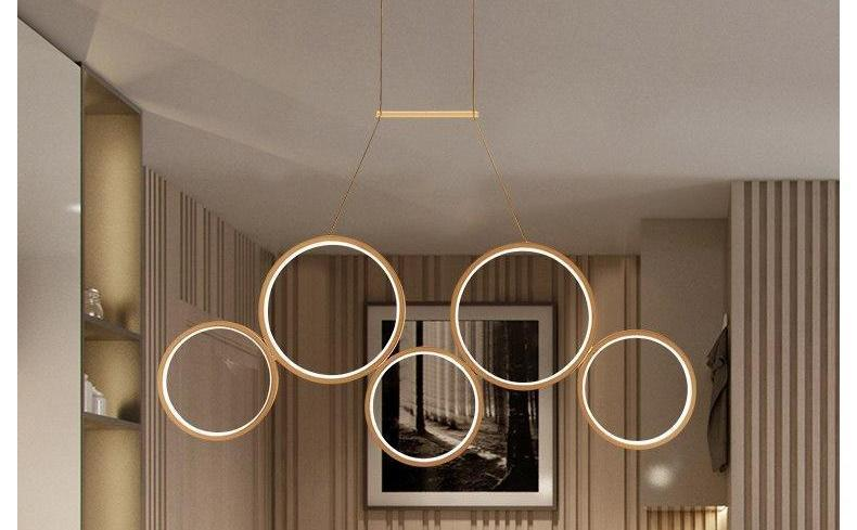 Pendre - Hanging Dimmable Ring Lamp - MODERNY