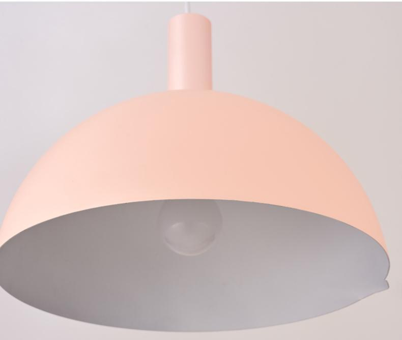 Modern Nordic Round Lampshade Hanging Light - MODERNY
