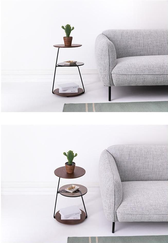Finian - Modern Three Level End Table - MODERNY