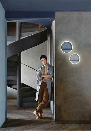Macarone - Modern Nordic Round LED Wall Lamp - MODERNY
