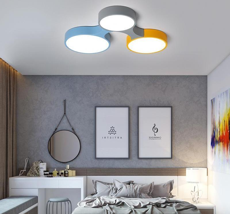 Cogs - Modern Nordic Colorful Ceiling Light - MODERNY