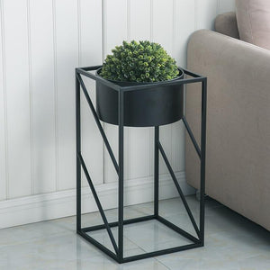 Lev - Angular Modern Indoor Planter - MODERNY