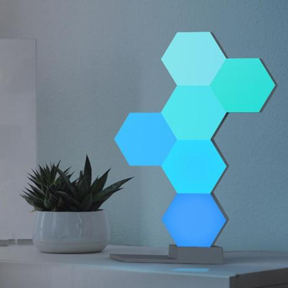 Geola - Lampes tactiles hexagonales modulables
