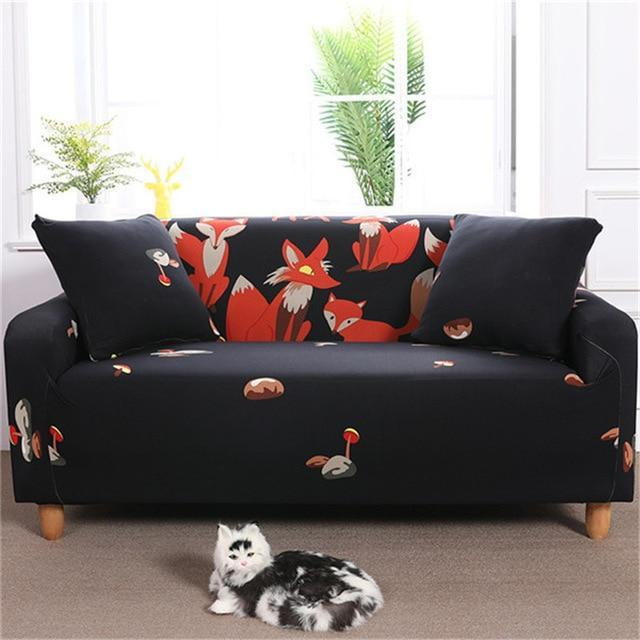 ComfiMi - Stretch Sofa Cover - MODERNY