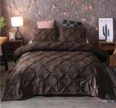 Leonie - Luxury Pinch Duvet Cover - MODERNY