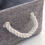 Delisa - Large Fabric Storage Basket - MODERNY