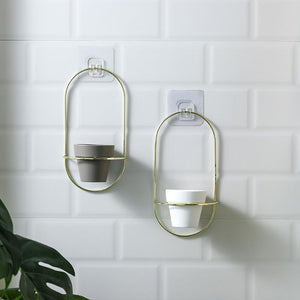 Esma - Rounded Wall Planter - MODERNY