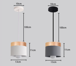 Rolä - Lampe cylindrique Nordique - MODERNY