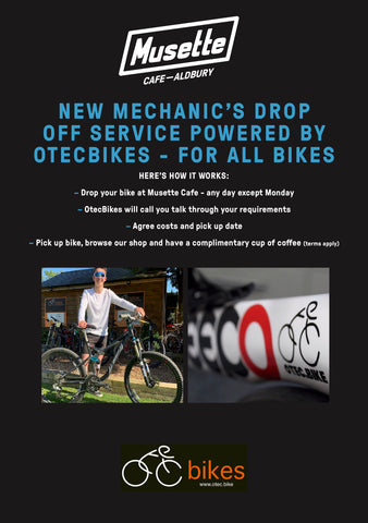OTEC Bikes Musette Cafe Workshop
