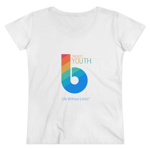 The Best Youth Organic Women's Lover T-shirt