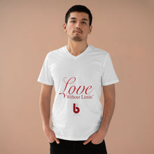 Load image into Gallery viewer, Love Without Limits Men's Presenter V-neck